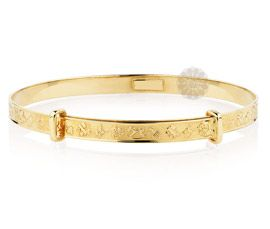 Feminine Cuteness Golden Bangle