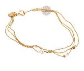 Layered Gold Anklet