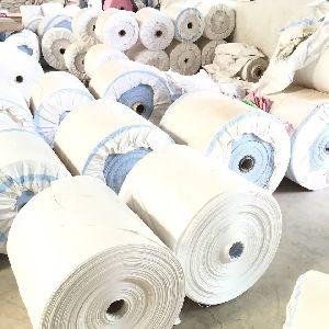 White PP Woven Sack Roll