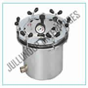 AUTOCLAVE PORTABLE STAINLESS STEEL WING NUT TYPE