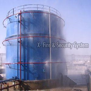 Medium Velocity Water Spray System