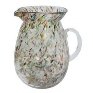 Colored Marble Jug