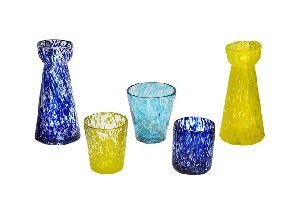 Colored Marble Vase
