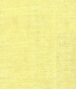 Yellow100% Pure  Linen Fabric