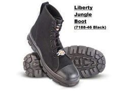Liberty Warrior Black Jungle Boots
