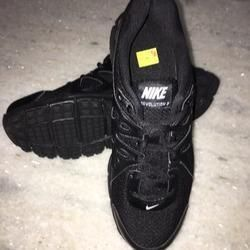 Nike Revolution Black School Shoes
