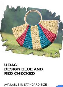 Kauna Grass Multicolour Handbag