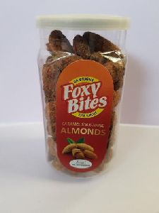 Roasted Caramel Star Anise Almond Nuts