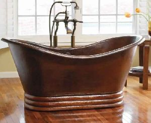 Antique Copper Bath Tub