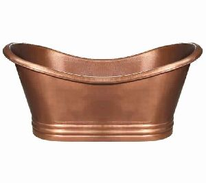 Copper Double-Slipper Tub