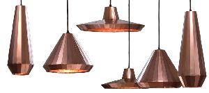 COPPER HANGING LIGHTS