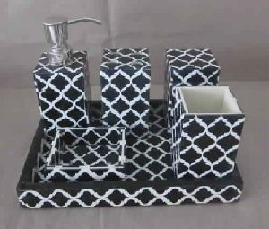 Designer Resin Bathroom Set