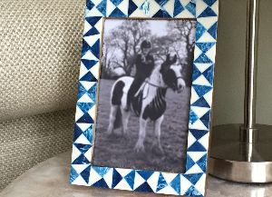 IndigoFusion Inlay Photo Frame
