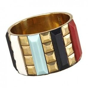 METAL STUD BANGLE