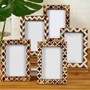 Set of five different Artisan frames