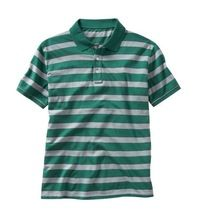 CASUAL HALF SLEEVE STRIPED POLO SHIRTS