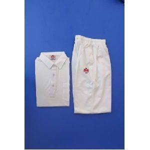 BDM White Cricket Wear