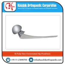 Bi Polar Non-Fenestrated Hip Prosthesis at Market Rate