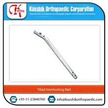 Robust and Low Weight Tibial Interlocking Orthopedic Nail Implants