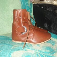 Ankle Medieval Leather boots