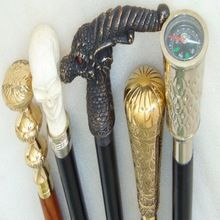 Brass collectible Walking Stick