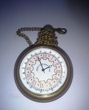 Collectible Brass Pocket Chain Watch