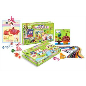 Paper Quilling craft Kit Toys