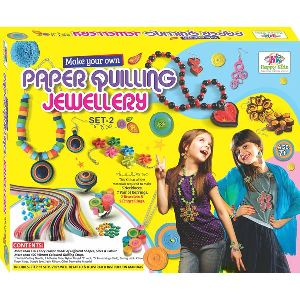 Art and Craft Toys Paper Quilling Jewellery Toys