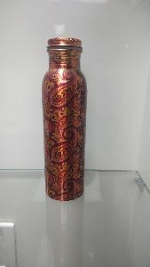 Copper Printed Bottle