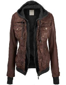 Handmade Women Leather Jacket