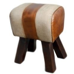 Antique Bamboo Stool