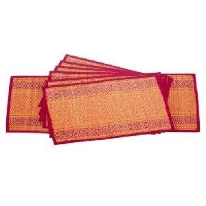Colored Bamboo Mat