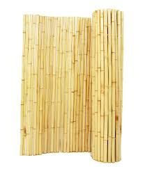 Exterior Bamboo Fence