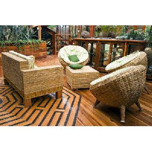 Fancy Bamboo Sofa Set