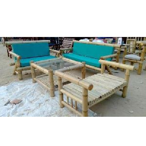 Modern Bamboo Sofa Set