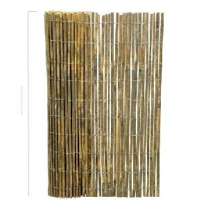 Straight Split Bamboo Fence