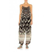 digital print and bead work hot summer women jumpsuit
