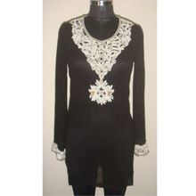 resort wear embroidery bead work tunic