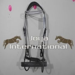Horse high jump bridle
