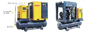 Integrated Type Screw Air Compressor