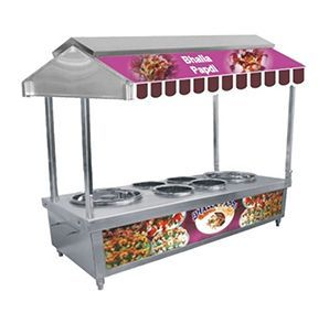 Papdi Chat Display Counter