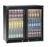 SS Glass Door Refrigerator