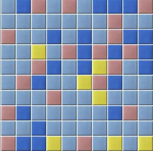 Glossy Glass Mosaic Tile 02