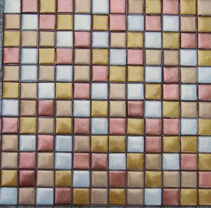 Metallic Glass Mosaic Tile 01