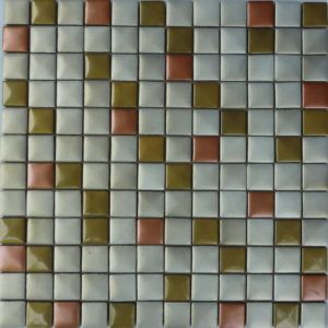 Metallic Glass Mosaic Tile 02