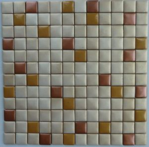 Metallic Glass Mosaic Tile 04