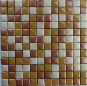 Metallic Glass Mosaic Tile 05