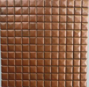 Metallic Glass Mosaic Tile 10