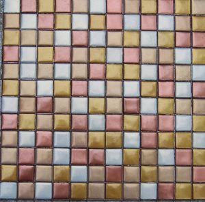 Metallic Glass Mosaic Tile