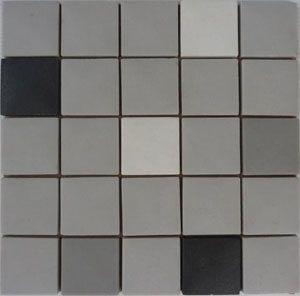 Unglazed Mosaic Matte Tile 01
